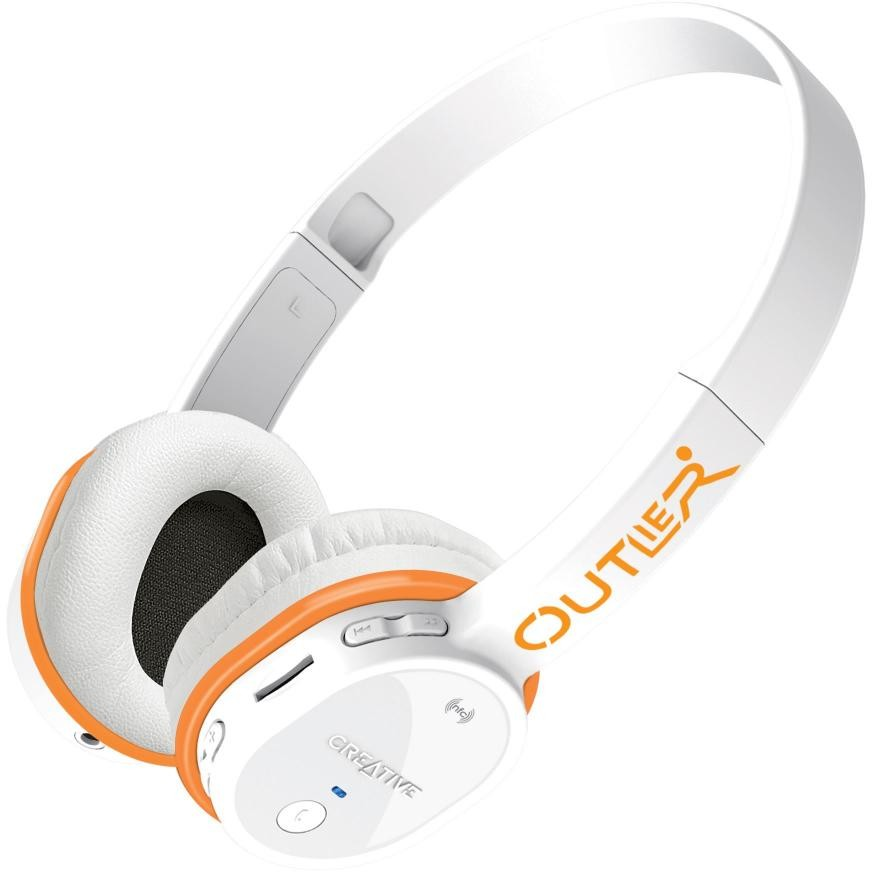 CREATIVE OUTLIER MP3 BLUETOOTH - NFC Headset, White