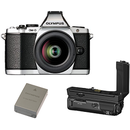 Aparat foto digital OLYMPUS E-M5II 1240 Kit slv/blk + HLD-8 Power Battery Holder + BLN-1 Battery