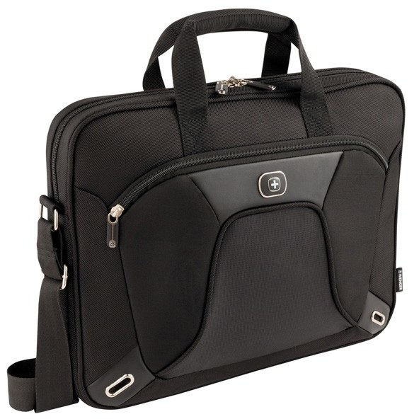WENGER ADMINISTRATOR 15 inch single comp.Notebook Case 600644