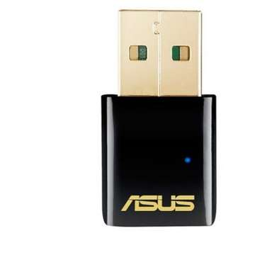 Asus Adaptor Wireless USB-AC51, AC 600, 150 + 433 Mbps, USB 2.0