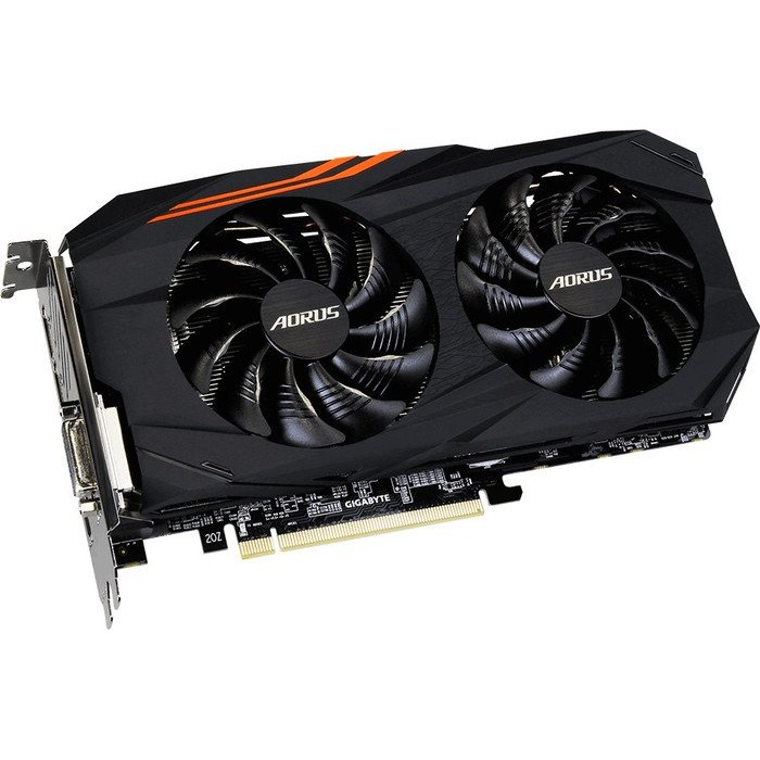 Placa video Radeon RX570AORUS-4GD, RX 570, AORUS, 4GB