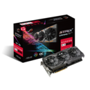 Placa video Asus RADEON ROG-STRIX-RX580-O8G-GA 90YV0AK0-M0NA00, 8GB, GDDR5, 1360MHZ, DVI, HDMI2, DP2 IN