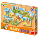 Dino Toys Puzzle in 3 piese - La ferma
