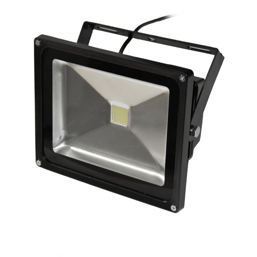 ART External lamp LED 30W,IP65, AC80-265V,black, 3000K- worm white