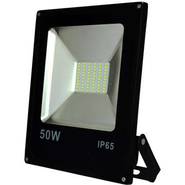 ART External lamp LED 50W,SMD,IP65, AC80-265V,black, 6500K-CW