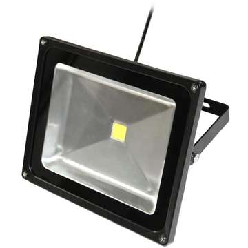 ART External lamp LED 50W,IP65,AC80-265V,black, 6500K- cold white