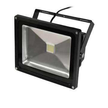 ART External lamp LED 30W,IP65,AC80-265V,black, 4000K- white