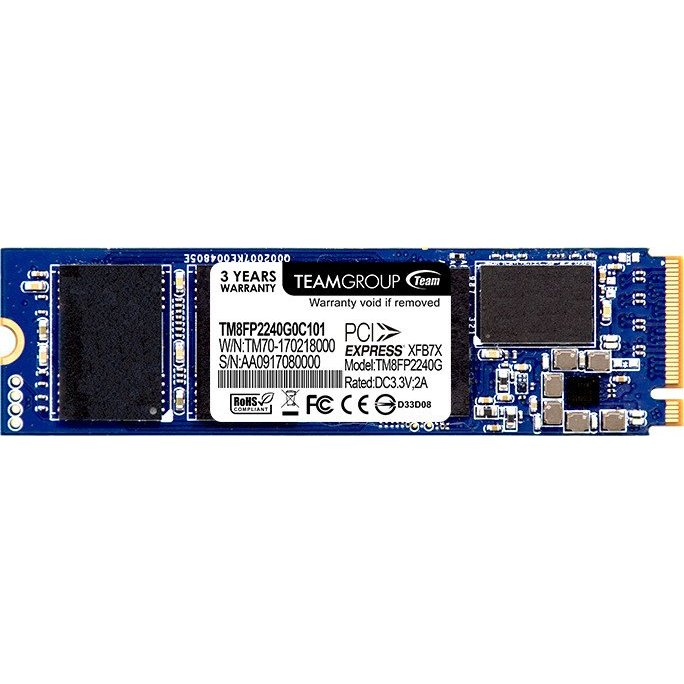 SSD SSD TM8FP2480G0C101, M.2, 480GB, Team P30 NVMe