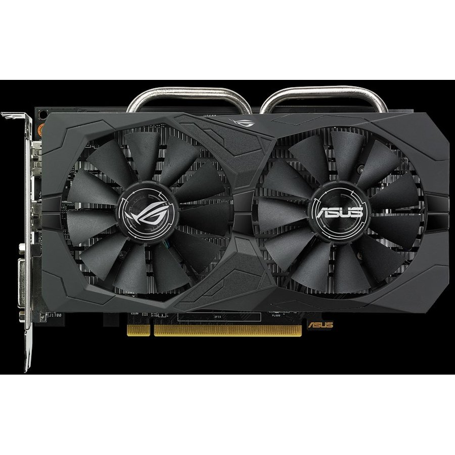 Placa video ROG Strix Radeon RX 560 4GB Gaming GDDR5, DP/HDMI/DVI