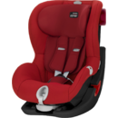 Scaun auto Britax Romer KING II LS - Black Series Flame Red