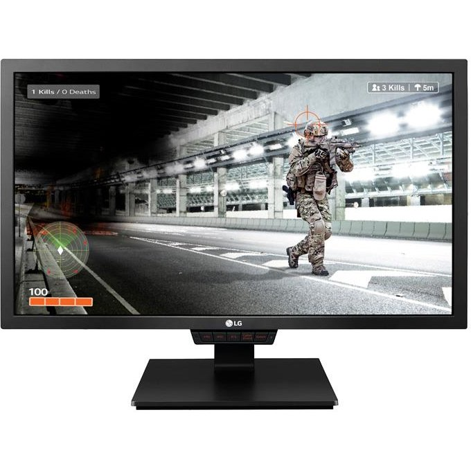 Monitor LED LG LCD 24GM79G-B 24'' TN, FHD, 1ms, DP, 2xHDMI, USB, negru
