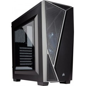 Carcasa Case Midi Corsair Spec-04 negru,gri LED, CC-9011109-WW