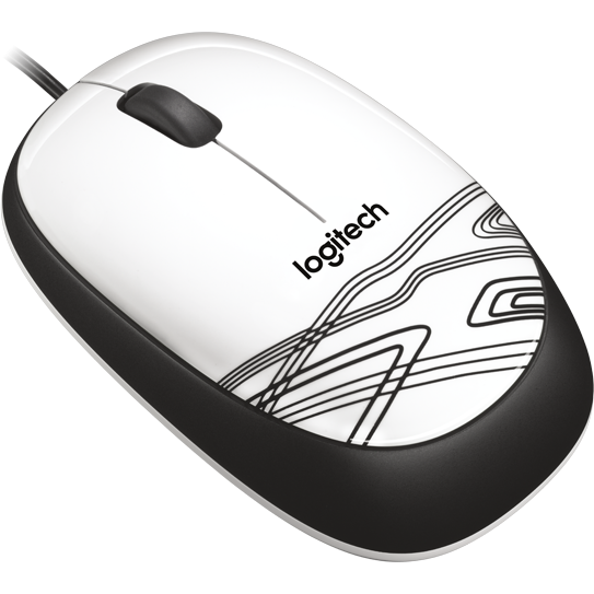 Mouse 910-002944, alb