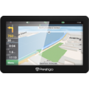 Prestigio PGPS5056EU20GBNV, 5 inci, CPU MSTAR 2531A 800 MHz, 128 MB RAM, 4 GB, 16 GB microSD card, FM, 950 mAh, lastic, Navitel navigation software, preinstalled maps of Full Europe) Free Lifetime Map update, negru