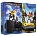 Consola Sony PlayStation 4 Slim 500GB + Crash Bandicoot + RatchetandClank