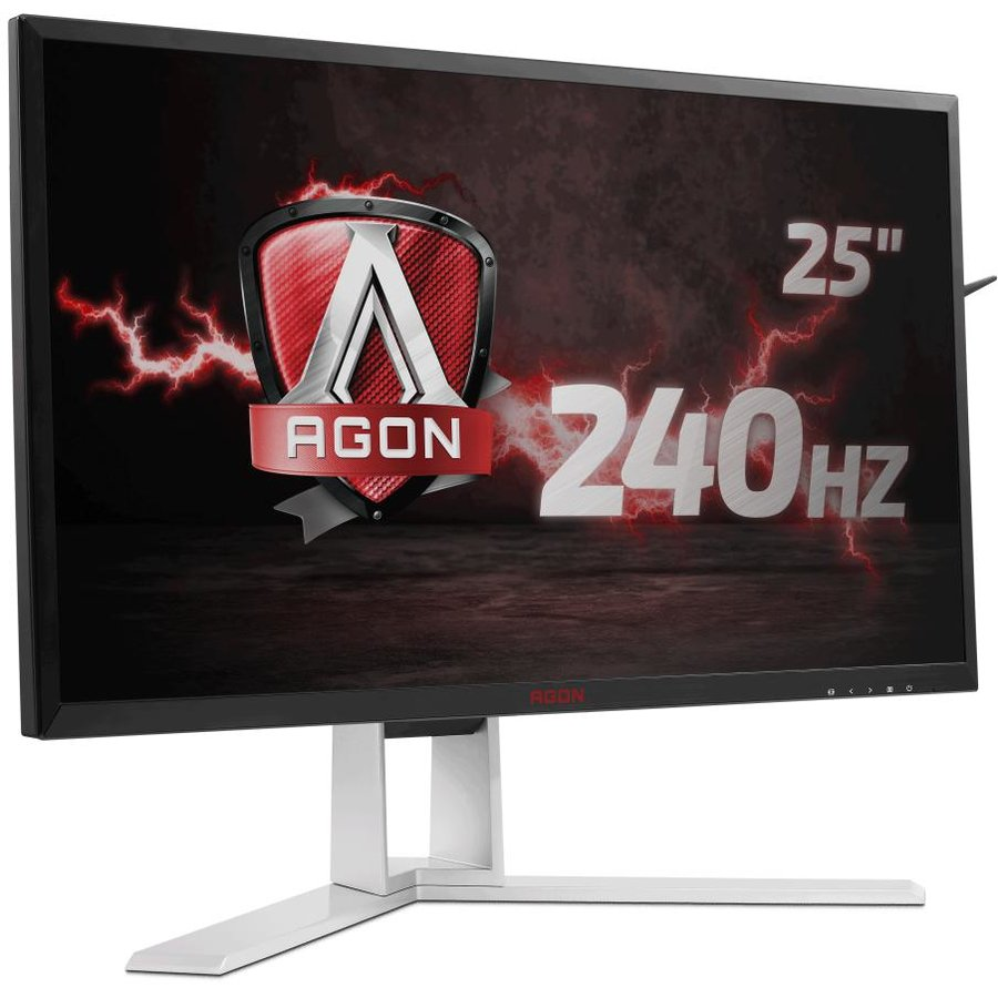 Monitor LED Gaming AG251FZ FreeSync 240Hz 24.5 inch 1 ms Negru/Rosu/Gri
