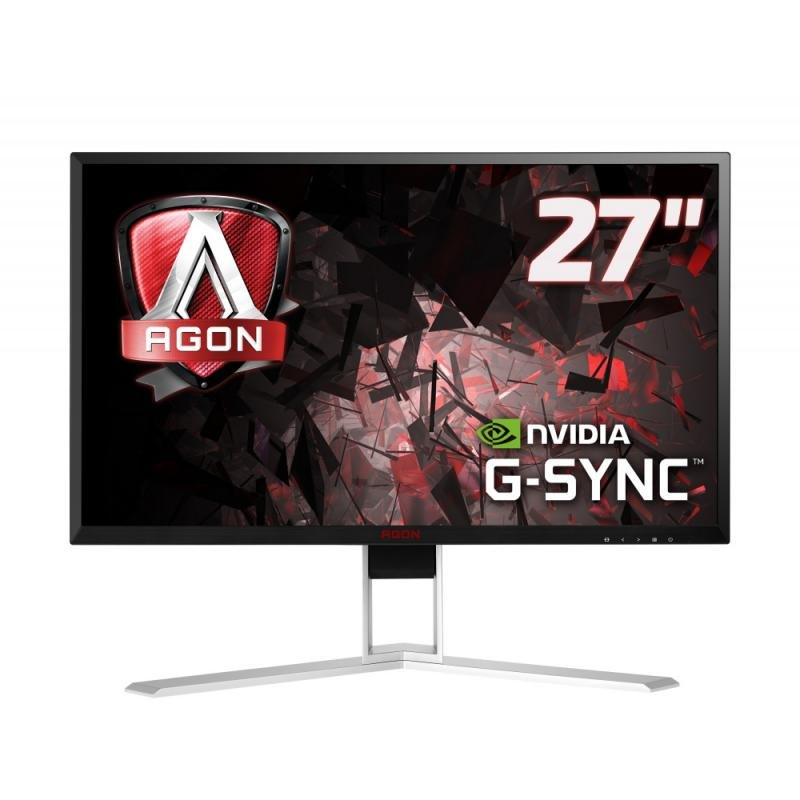 Monitor LED Gaming AGON AG271QG G-Sync 165Hz 27 inch 2K 4ms Black/Silver