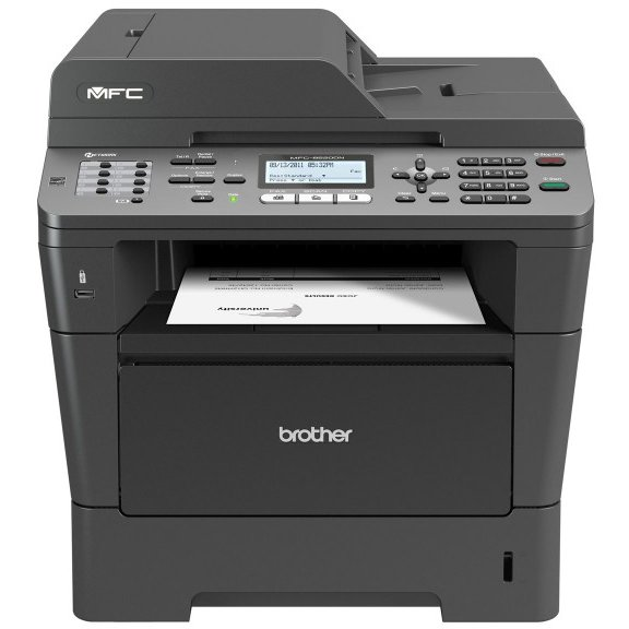 Multifunctionala BROTHER MFC 8520DN, A4, Duplex, Scanner, Copiator, Printer si Fax, Retea si USB, 36 ppm REFURBISHED