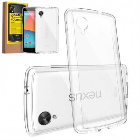 Husa Google Nexus 5 Ringke FUSION CRYSTAL VIEW TRANSPARENT