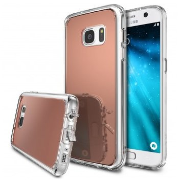 Husa Samsung Galaxy S7 Ringke MIRROR ROSE GOLD