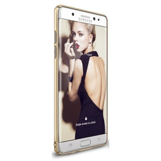 Husa Samsung Galaxy Note 7 Fan Edition Ringke Slim ROYAL GOLD