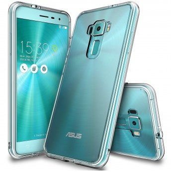 Husa Asus ZenFone 3 5,5 Ringke FUSION CRYSTAL CLEAR