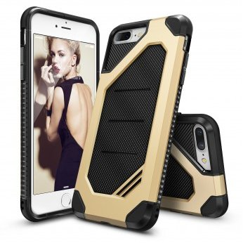 Husa iPhone 7 Plus / iPhone 8 Plus Ringke ARMOR MAX ROYAL GOLD