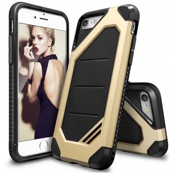 Husa iPhone 7 / iPhone 8 Ringke ARMOR MAX ROYAL GOLD