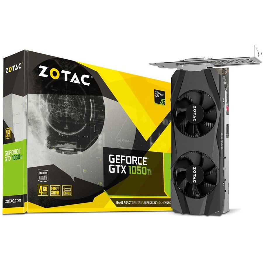 Placa video ZT-P10510E-10L, VGA ZOTAC GTX 1050 TI LP