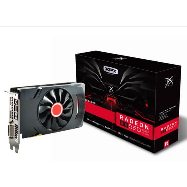Placa video VGA XFX RX 560 4GB single fan