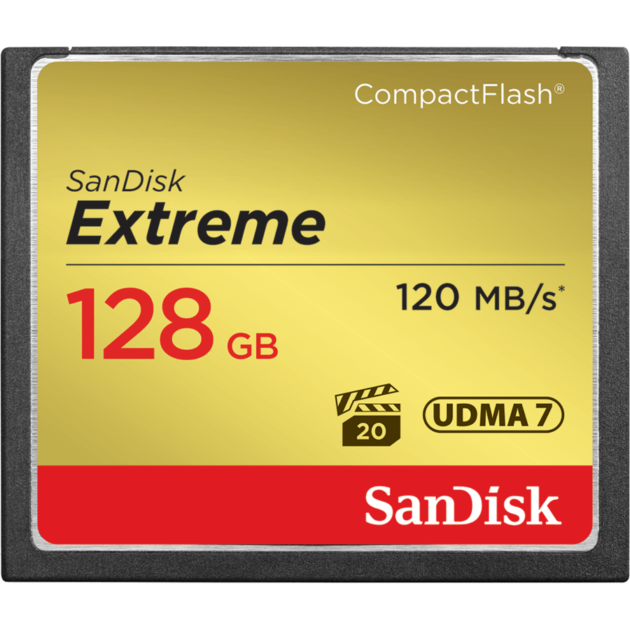 Card memorie SDCFXSB-128G-G46, Compact Flash Extreme 128GB UDMA7