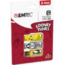 EMTEC Stick USB 8GB USB 2.0 LT01 P3