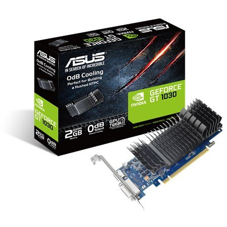 Placa video ASUS GT 1030, 2GB GDDR5 64 bit, DVI, HDMI, Heatsink