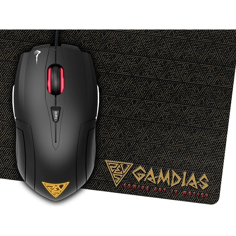 Mouse Demeter E1 Optic 3200 DPI + bonus mousePad NYX E1