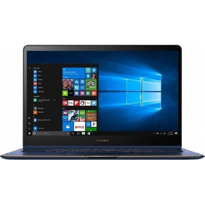Ultrabook ZenBook Flip UX370UA-C4228T, FHD Touch, Intel Core i7-8550U, 16GB, 256GB SSD, GMA UHD 620, Win 10 Home, Royal Blue