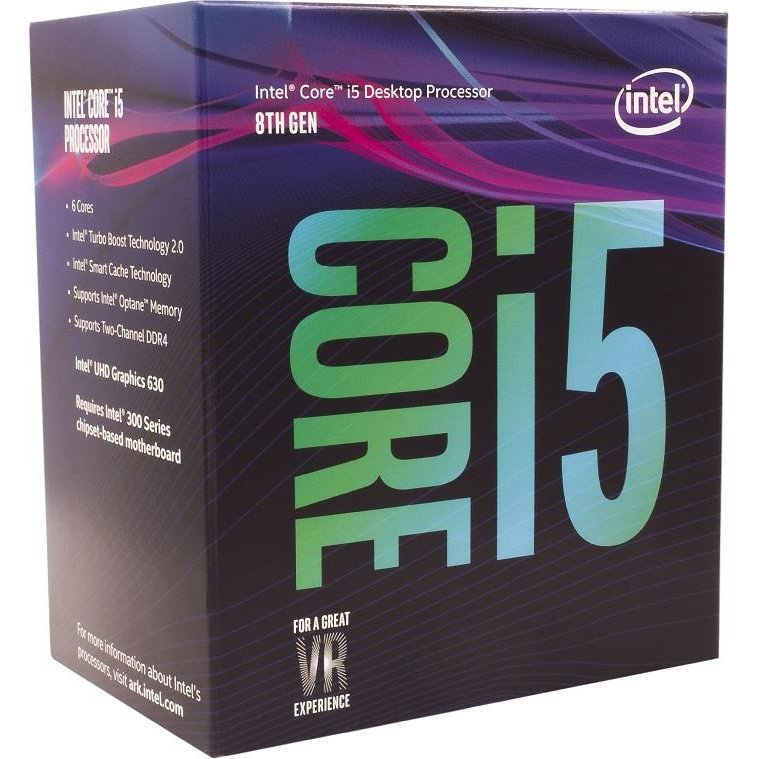 Procesor Intel Core i5-8400, Coffe Lake, Hexa Core, 2.80GHz, 9MB, LGA1151v2, 14nm, BOX