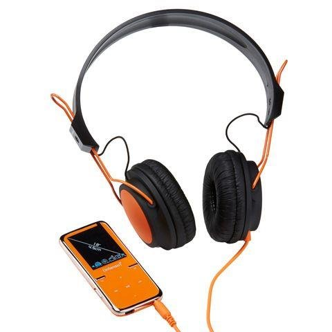 Player MP4 player 8GB Video Scooter LCD 1,8'' Orange + Headphones