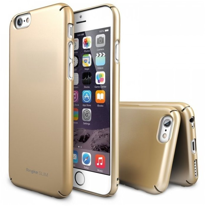Husa iPhone 6s Ringke SLIM ROYAL GOLD