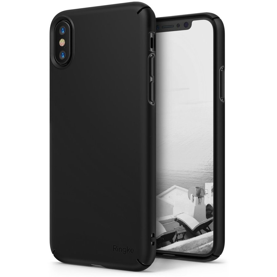 Husa Ringke iPhone X Slim Black