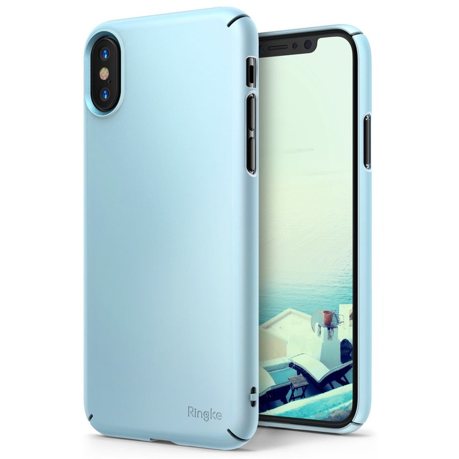 Husa Ringke iPhone X Slim Sky Blue