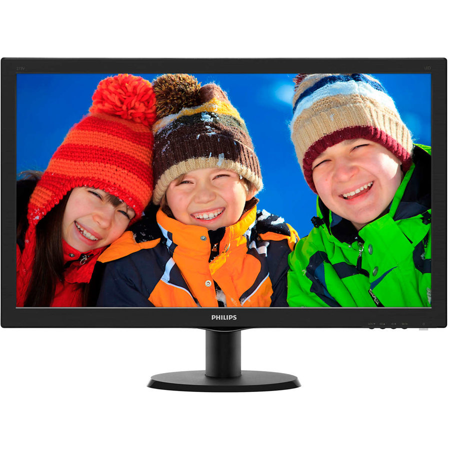Monitor LED 273V5LHSB/00, 27 inch, 1920 x 1080 Full HD, negru
