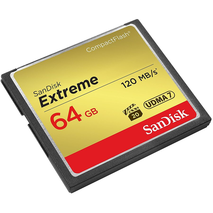 Card memorie SDCFXSB-064G-G46, Compact Flash Extreme 64GB UDMA7