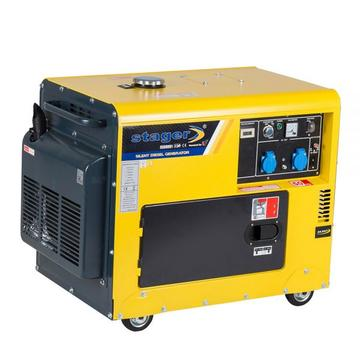 STAGER Generator cu automatizare diesel DG 5500S+ATS, 4.2 kW