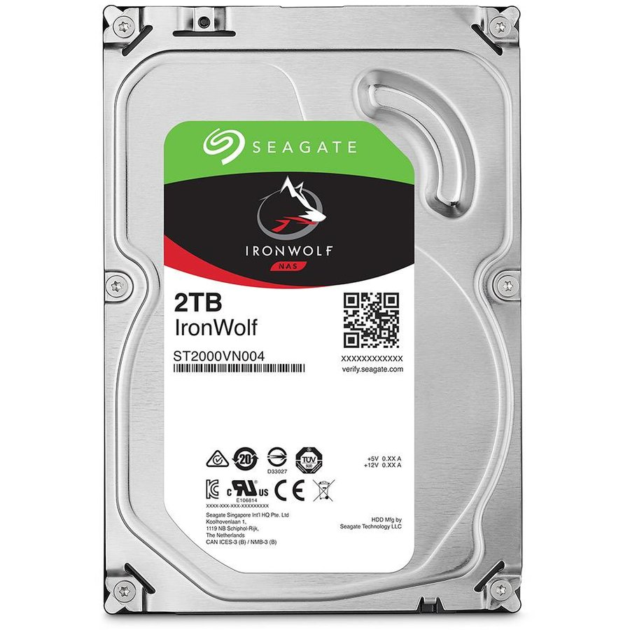 Hard disk Ironwolf ST2000VN004 2TB 5900RPM SATA3 64MB 3.5 inch
