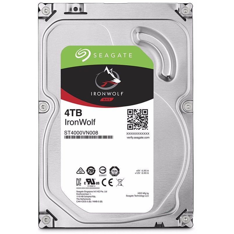Hard disk Ironwolf ST4000VN008 4TB 5900RPM SATA3 64MB 3.5 inch