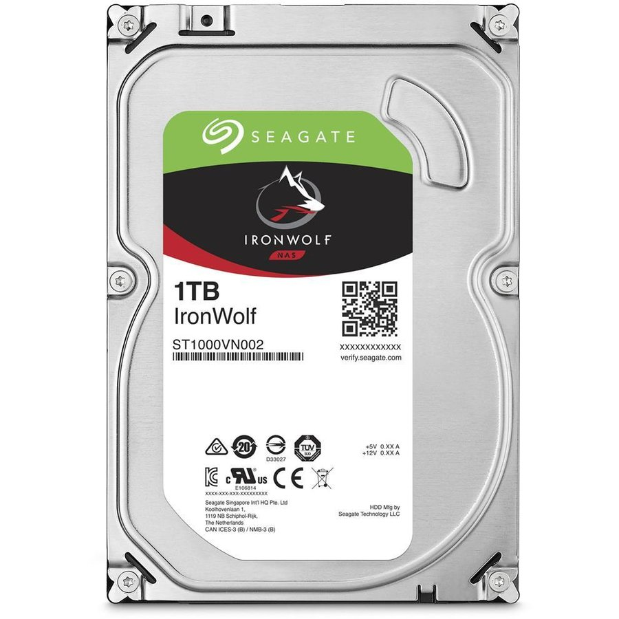 Hard disk IronWolf ST1000VN002 1TB 5900RPM SATA3 64MB 3.5 inch