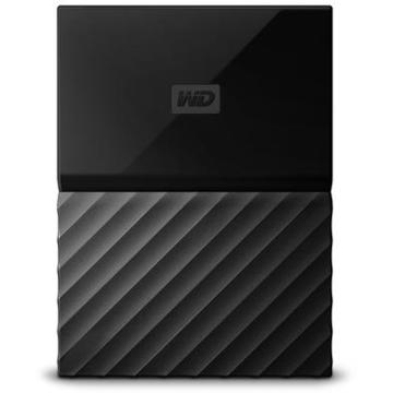 Hard disk extern Western Digital MyPassport 3TB USB 3.0 Negru