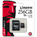 Card memorie Kingston MICROSDHC SDC10G2/256GB, 256GB, CL10, UHS-I KS W AD SD