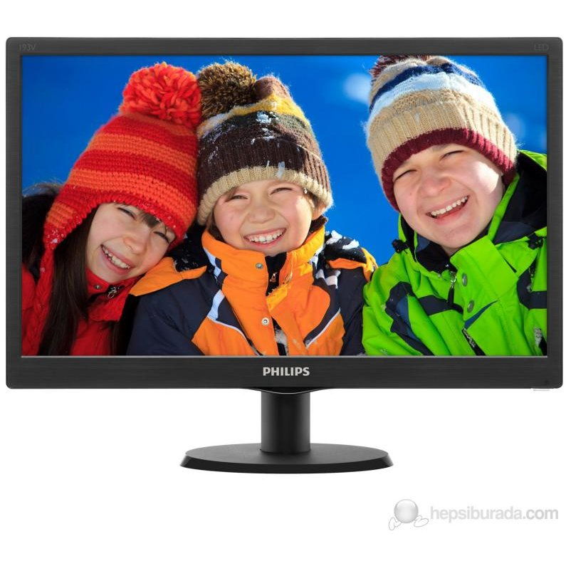 Monitor LED 193V5LSB2/62 19 HD 5 ms Negru