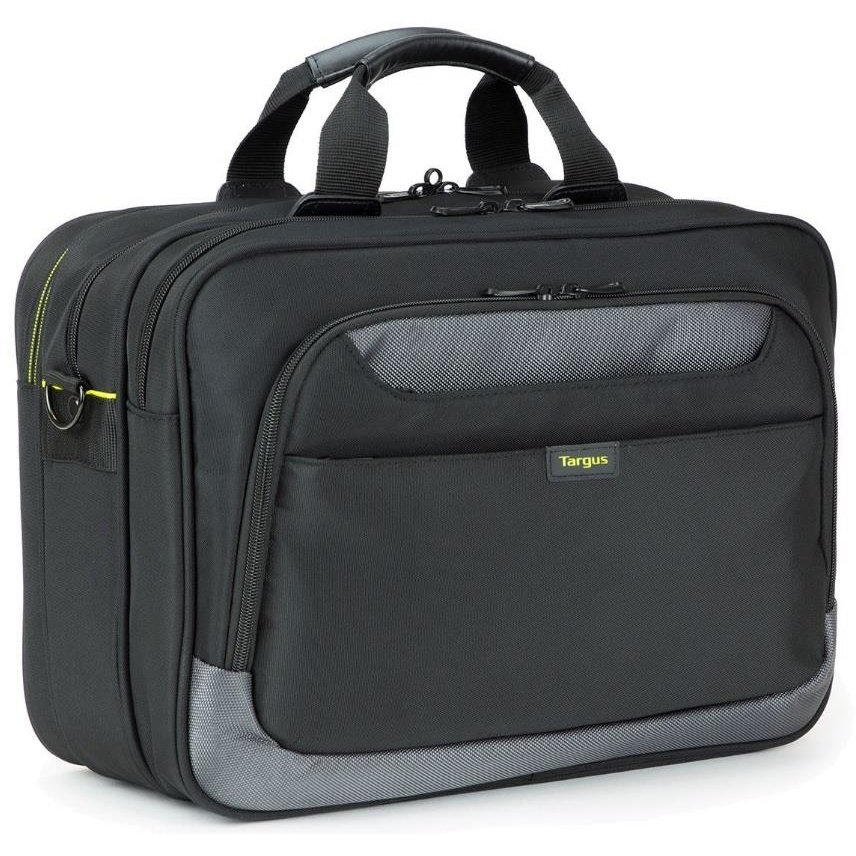 CityGear 15.6'' Topload Laptop Case With Printer Section Black